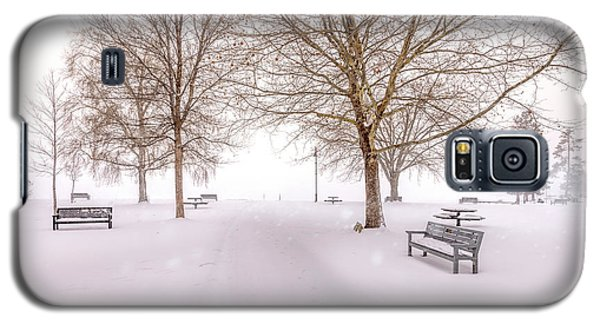 Galaxy S5 Case featuring the photograph A Beautiful Winter's Morning  by John Poon