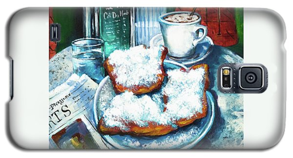 A Beignet Morning Galaxy S5 Case by Dianne Parks