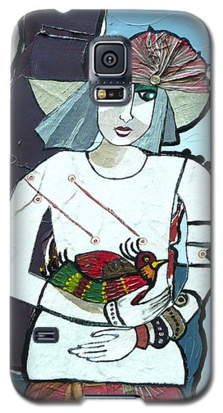 A Bird In Hand Galaxy S5 Case