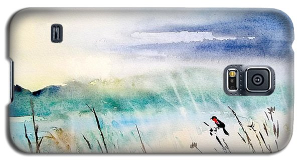 A Bird In Swamp Galaxy S5 Case by Yoshiko Mishina