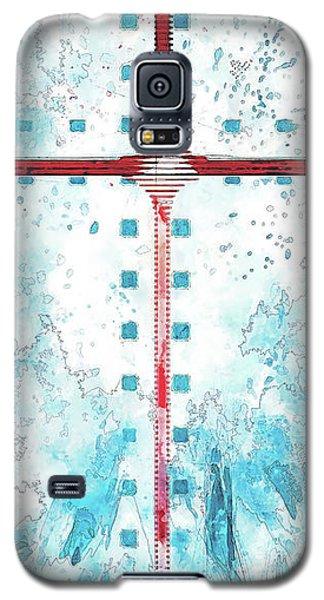 A Blue Sky Galaxy S5 Case