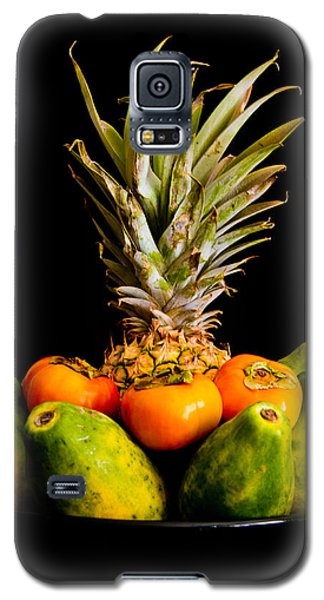 A Bowl Of Hawaiian Fruit Galaxy S5 Case by Roger Mullenhour