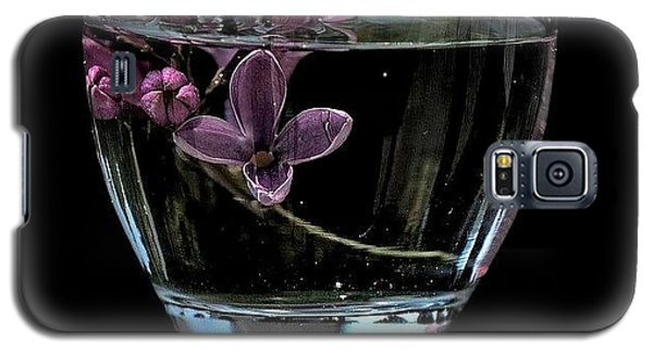 A Bowl Of Lilacs Galaxy S5 Case