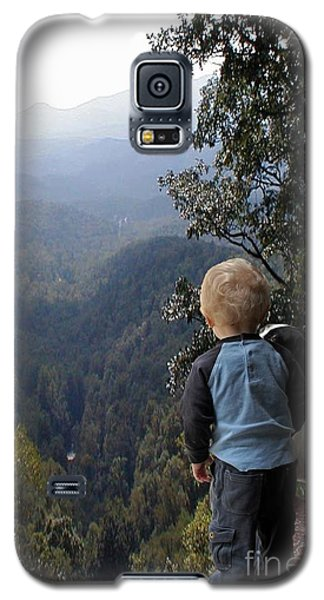 A Boy And His Dog Galaxy S5 Case by Robert Meanor