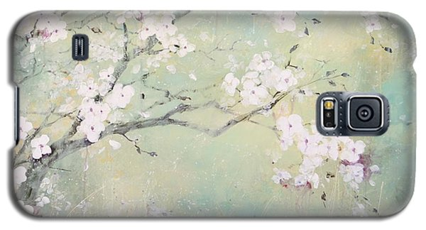 Galaxy S5 Case featuring the painting A Breath Of Spring by Laura Lee Zanghetti