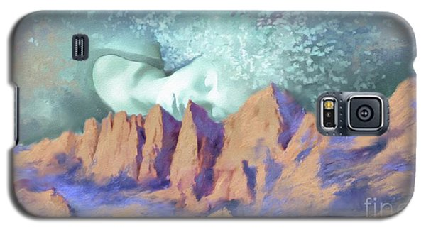 Galaxy S5 Case featuring the painting A Breath Of Tranquility by S G