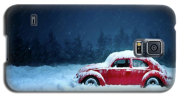 A Bug In The Snow Galaxy S5 Case