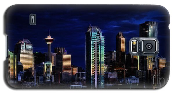 A Calgary Sunrise Galaxy S5 Case