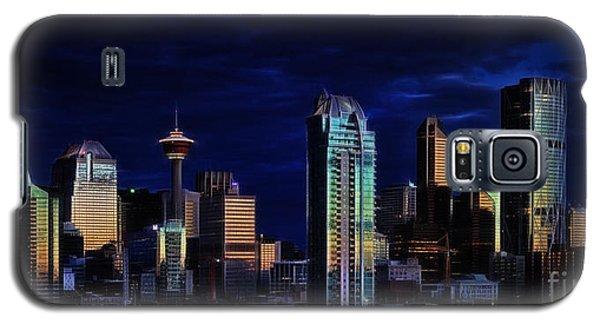 A Calgary Sunrise Galaxy S5 Case