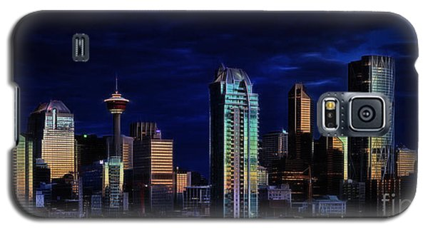 Galaxy S5 Case featuring the photograph A Calgary Sunrise by Brad Allen Fine Art