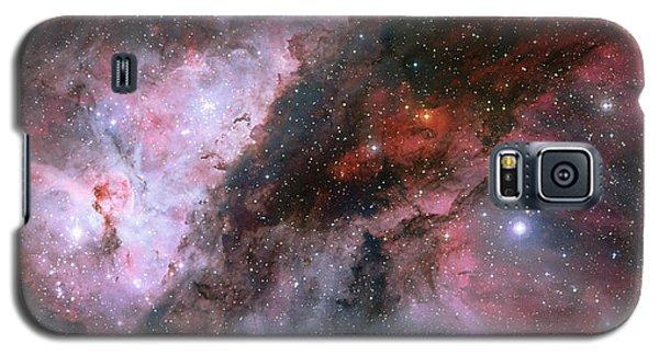 Galaxy S5 Case featuring the photograph A Carina Nebula Pano by Nasa