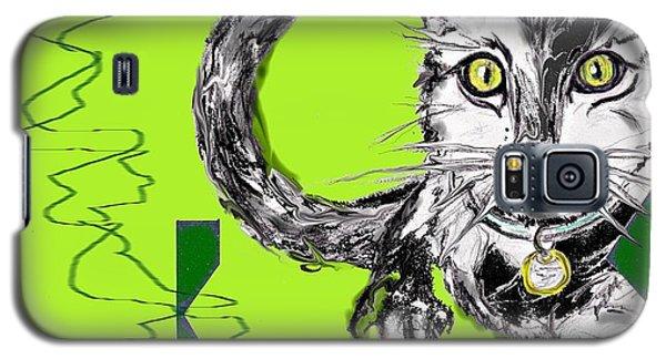 A Cat Galaxy S5 Case