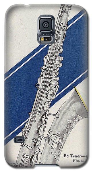 A Charles Gerard Conn Bb Tenor Galaxy S5 Case