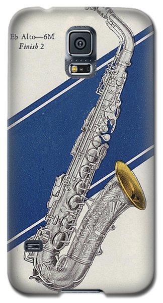 A Charles Gerard Conn Eb Alto Saxophone Galaxy S5 Case