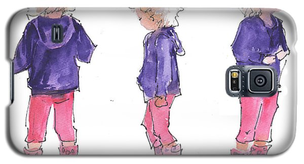 A Childs Pose Galaxy S5 Case