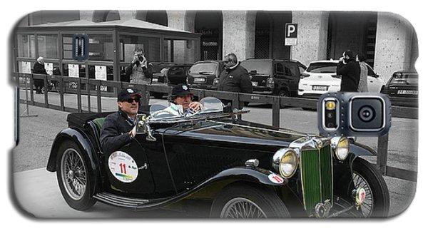 A Classic Vintage British Mg Car Galaxy S5 Case