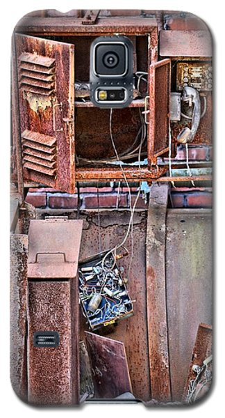 Galaxy S5 Case featuring the photograph A Collaboration Of Rust by DJ Florek