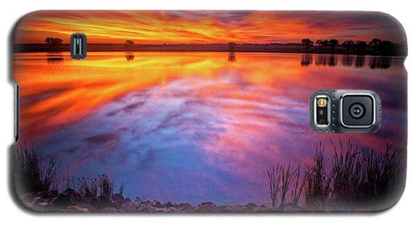 A Colorado Birthday Sunrise Galaxy S5 Case
