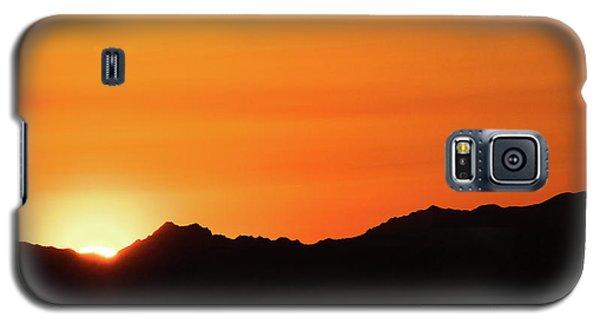 A Colorado Sunset Galaxy S5 Case