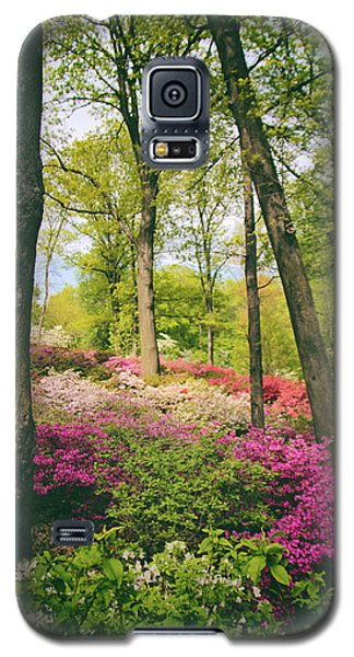 A Colorful Hillside Galaxy S5 Case by Jessica Jenney