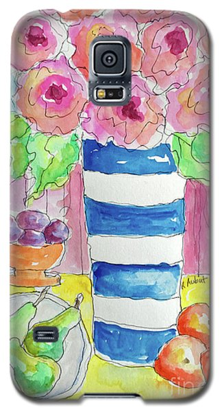 Galaxy S5 Case featuring the painting Fruit Salad by Rosemary Aubut