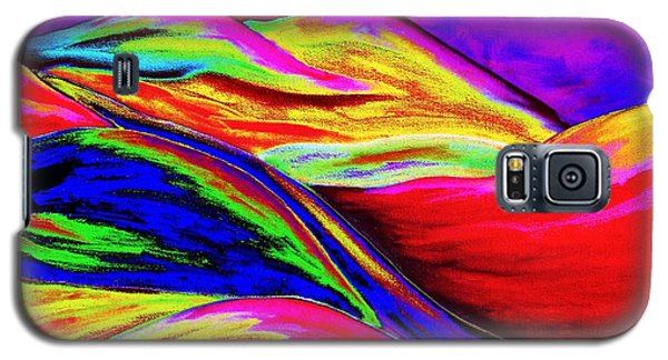 A Colorful World Galaxy S5 Case by Annie Zeno