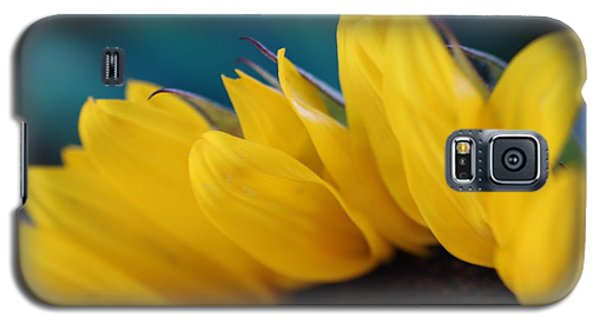 A Cool Sunflower Galaxy S5 Case