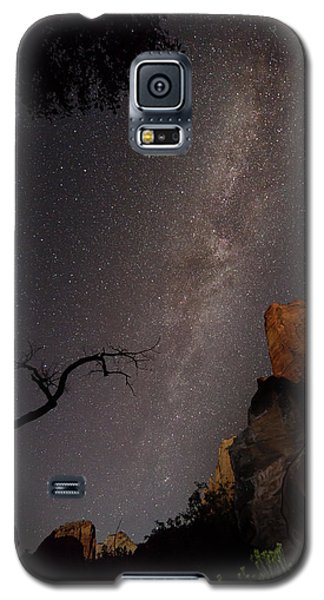 A Dark Night In Zion Canyon Galaxy S5 Case