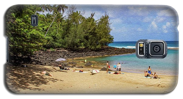 A Day At Ke'e Beach Galaxy S5 Case