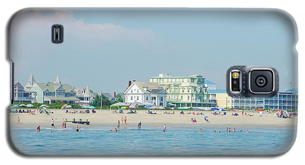 Galaxy S5 Case featuring the photograph A Day At The Beach - Cape May New Jesey by Bill Cannon