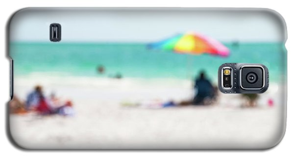 Galaxy S5 Case featuring the photograph a day at the beach IV by Hannes Cmarits