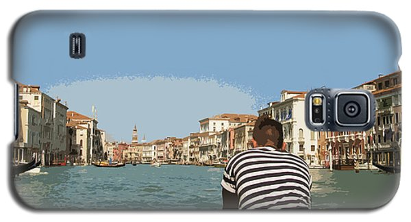 A Day In Venice Galaxy S5 Case
