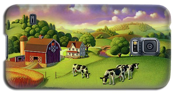 A Day On The Farm  Galaxy S5 Case by Robin Moline