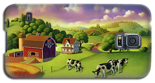 A Day On The Farm  Galaxy S5 Case
