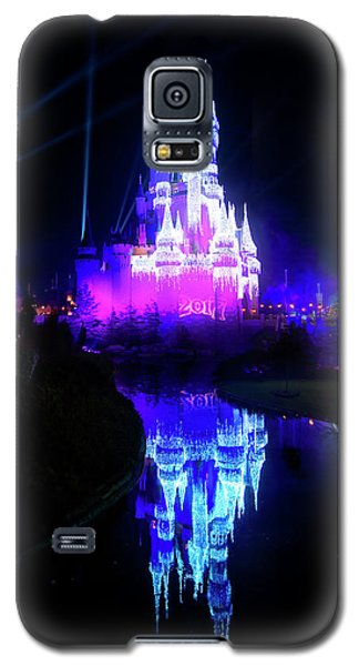 Galaxy S5 Case featuring the photograph A Disney New Year by Mark Andrew Thomas