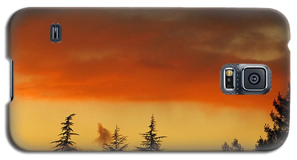 A Distant Rain Galaxy S5 Case by CML Brown