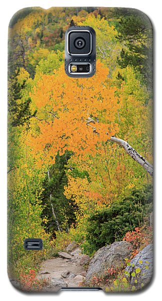 Galaxy S5 Case featuring the photograph Yellow Drop by David Chandler