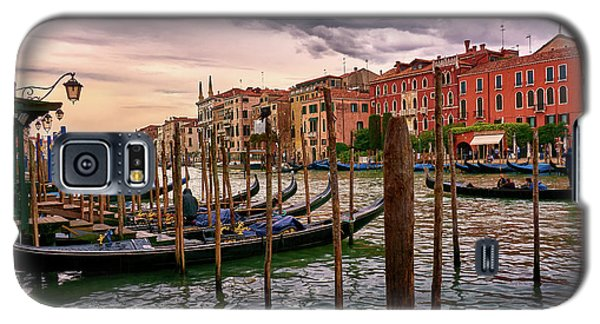 Vintage Buildings And Dramatic Sky, A Dreamlike Seascape In Venice Galaxy S5 Case