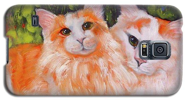 A Duet Of Kittens Galaxy S5 Case
