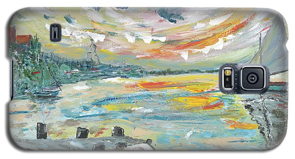 A Dutch Sunset Galaxy S5 Case