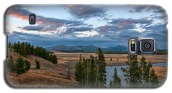 A Fall Evening In Hayden Valley Galaxy S5 Case by Steve Stuller