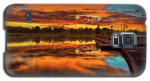 A Fall Sunrise Galaxy S5 Case