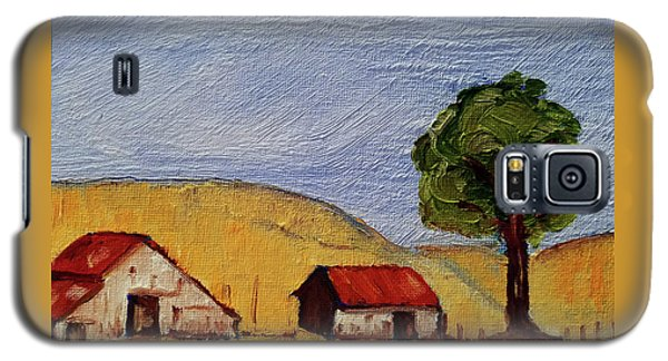 A Farm In California Winecountry Galaxy S5 Case