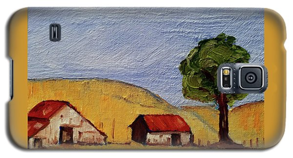 A Farm In California Winecountry Galaxy S5 Case