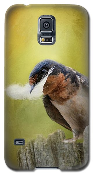 A Feather For Her Nest Galaxy S5 Case