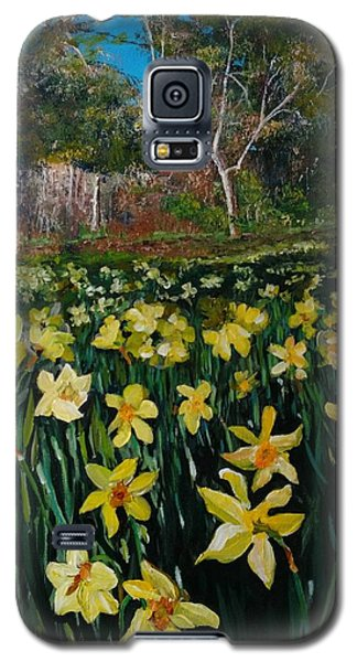 A Field Of Daffodils Galaxy S5 Case