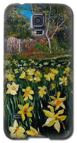 A Field Of Daffodils Galaxy S5 Case