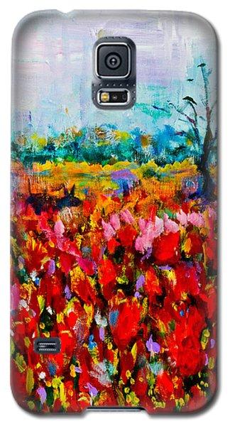 A Field Of Flowers # 2 Galaxy S5 Case