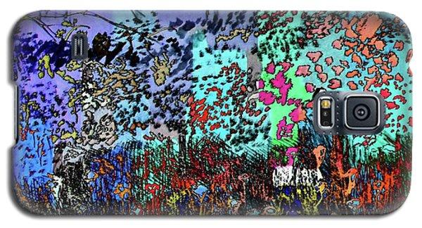 A Field Of Flowers Galaxy S5 Case