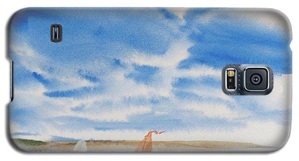 A Fine Sailing Breeze On The River Derwent Galaxy S5 Case